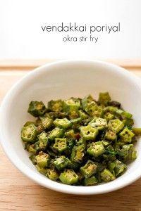 vendakkai poriyal recipe, how to make okra poriyal or okra fry | Veg Recipes of India | Bloglovin
