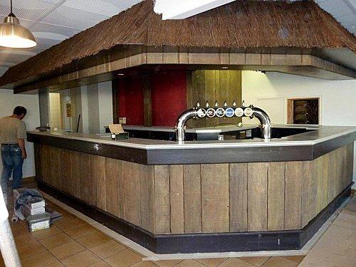 comptoir bar professionnel | awesome comptoir de bar en bois with ...