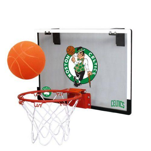 Nba Boston Celtics Game On Indoor Basketball Hoop Ball Set Http Hoopsternation Com Nba Boston Ce Indoor Basketball Hoop Basketball Hoop Indoor Basketball