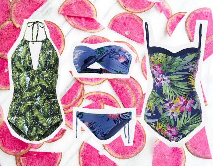 Bikinitrend 2016 Florale Muster