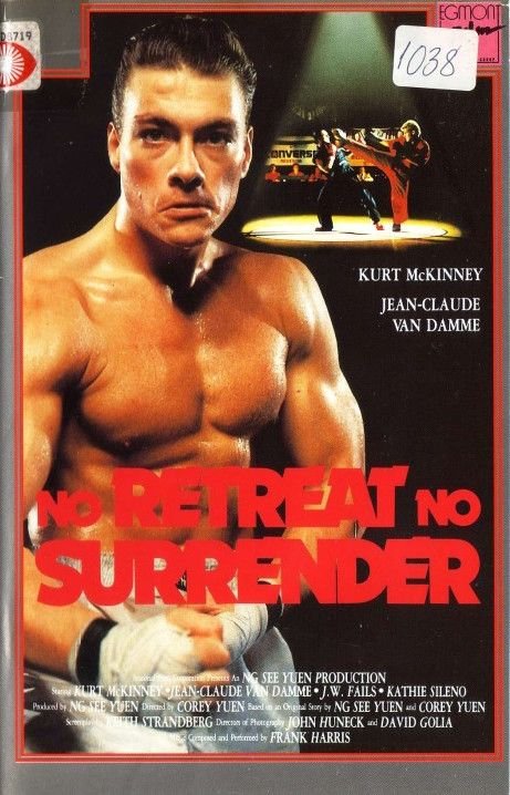 The Actioneer Norwegian Vhs Of No Retreat No Surrender Corey Van Damme Jean Claude Van Damme Jcvd Movies
