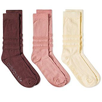 Amazon.com: Adidas Men's BR1791 Colour Sock - 3 Pack, Yellow, Brown & Pink: Clothing