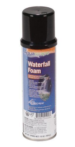 AQUASCAPE, INC, BLACK WATERFALL FOAM 16 OZ, Part No ...