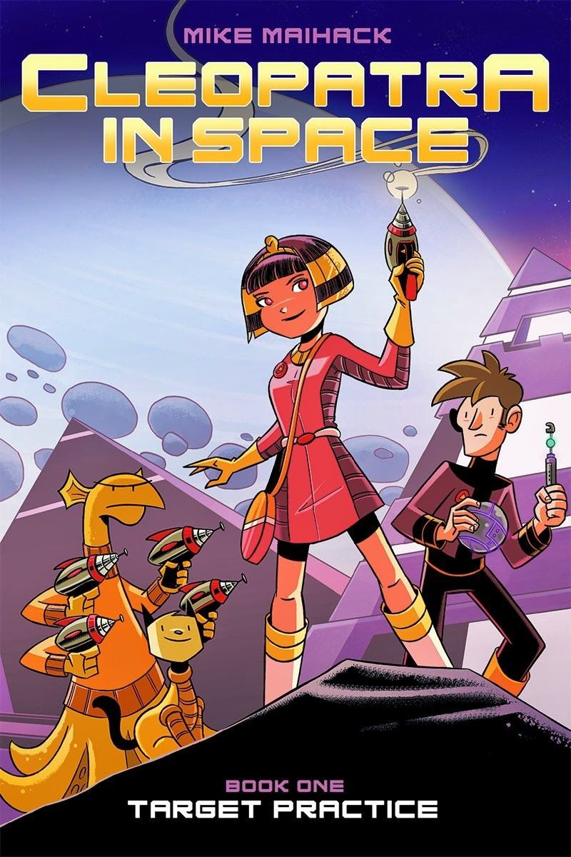 Great kid books cleopatra in space target practice by