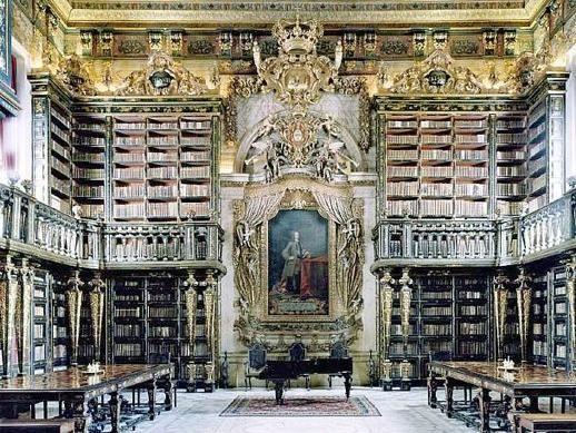 Biblioteca da Universidade de Coimbra (1290), Portugal