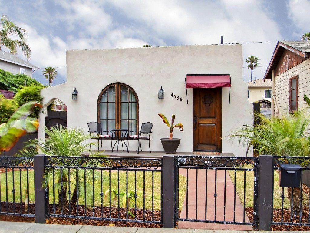 Bungalow vacation rental in Ocean Beach, San Diego, CA