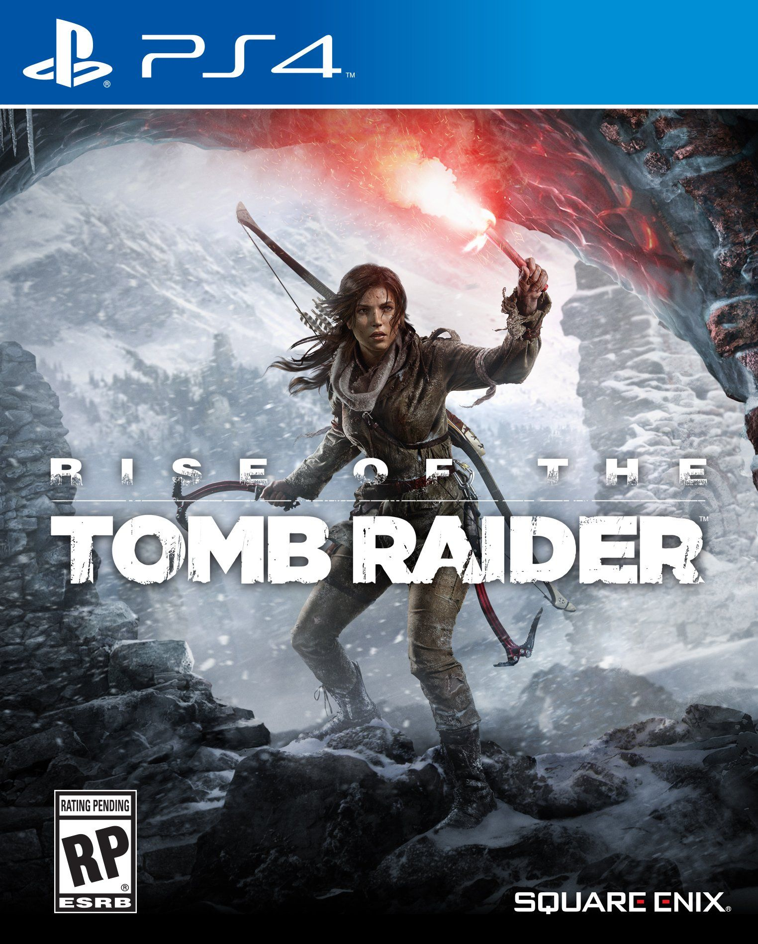 Amazon Com Rise Of The Tomb Raider Playstation 4 Video Games
