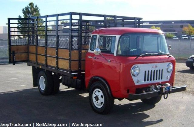 Jeep Fc For Sale >> 1960 Willys Fc 170 Drw Forward Control Fc Jeeps Trucks Jeep