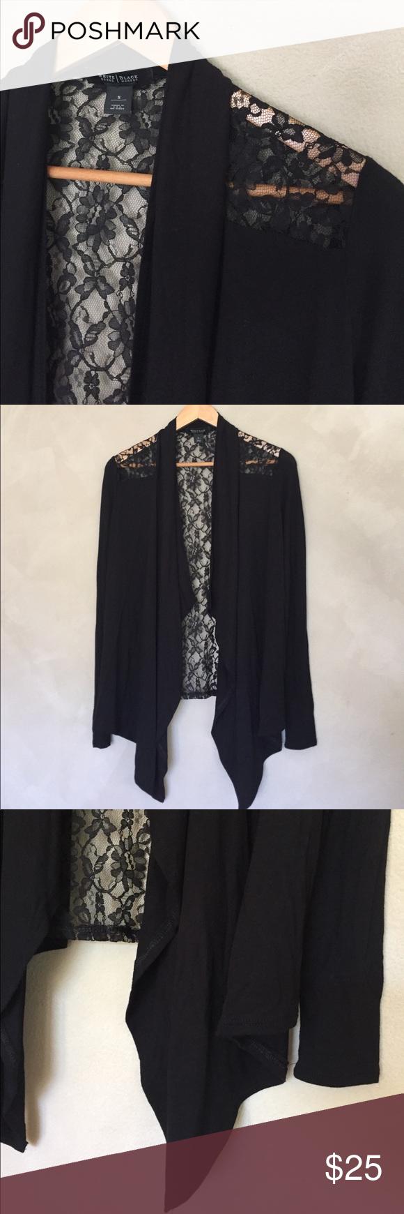 White House Black Market lace cardigan | Lightweight cardigan