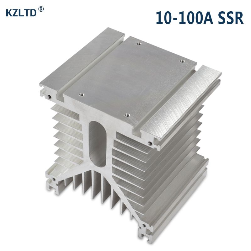 Aluminum Heat Sink for Solid State Relay SSR 80A 100A Three