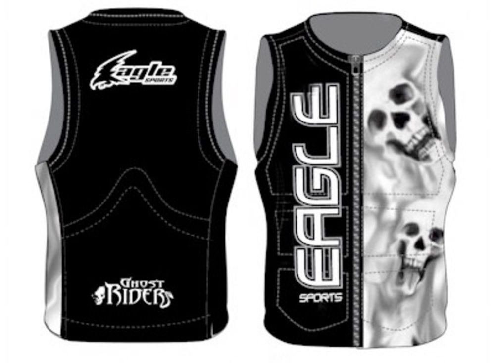 2012 Eagle Sports Ghost Rider Water Ski Vest Water Ski Equipment Water Skiing Ski Equipment Water Skis