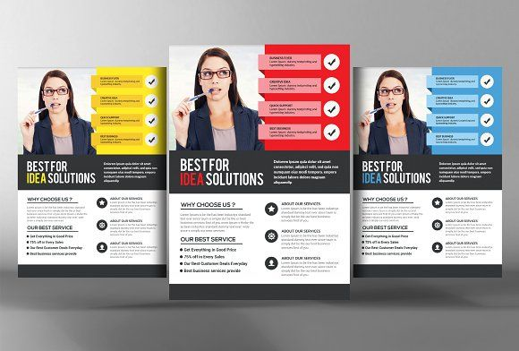office flyer template
