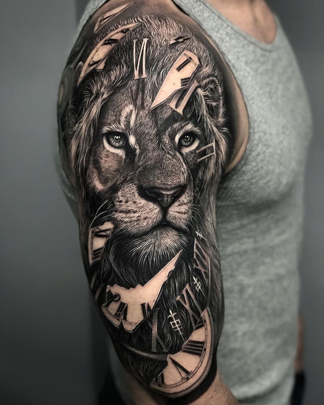 Lion tattoo sleeves, Sleeve tattoos