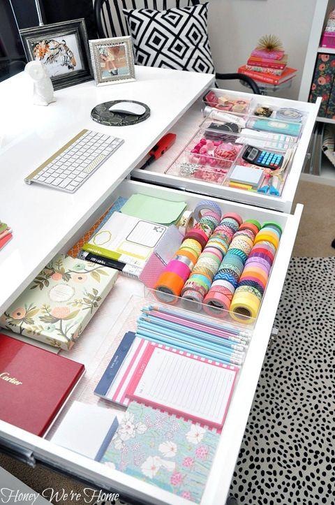 Home Office Storage Organization