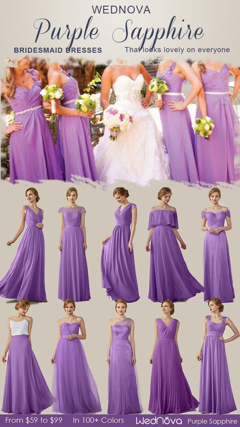 purple sapphire different style bridesmaid dresses boho dress off