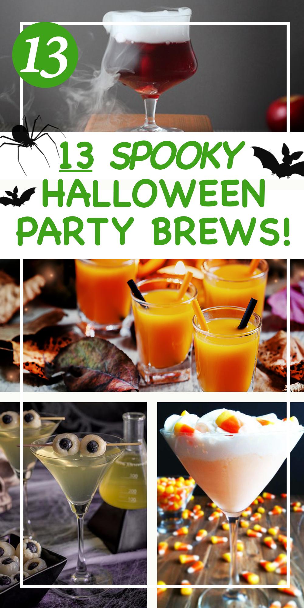13 Spooky Halloween Drinks Recipes! Halloween drinks