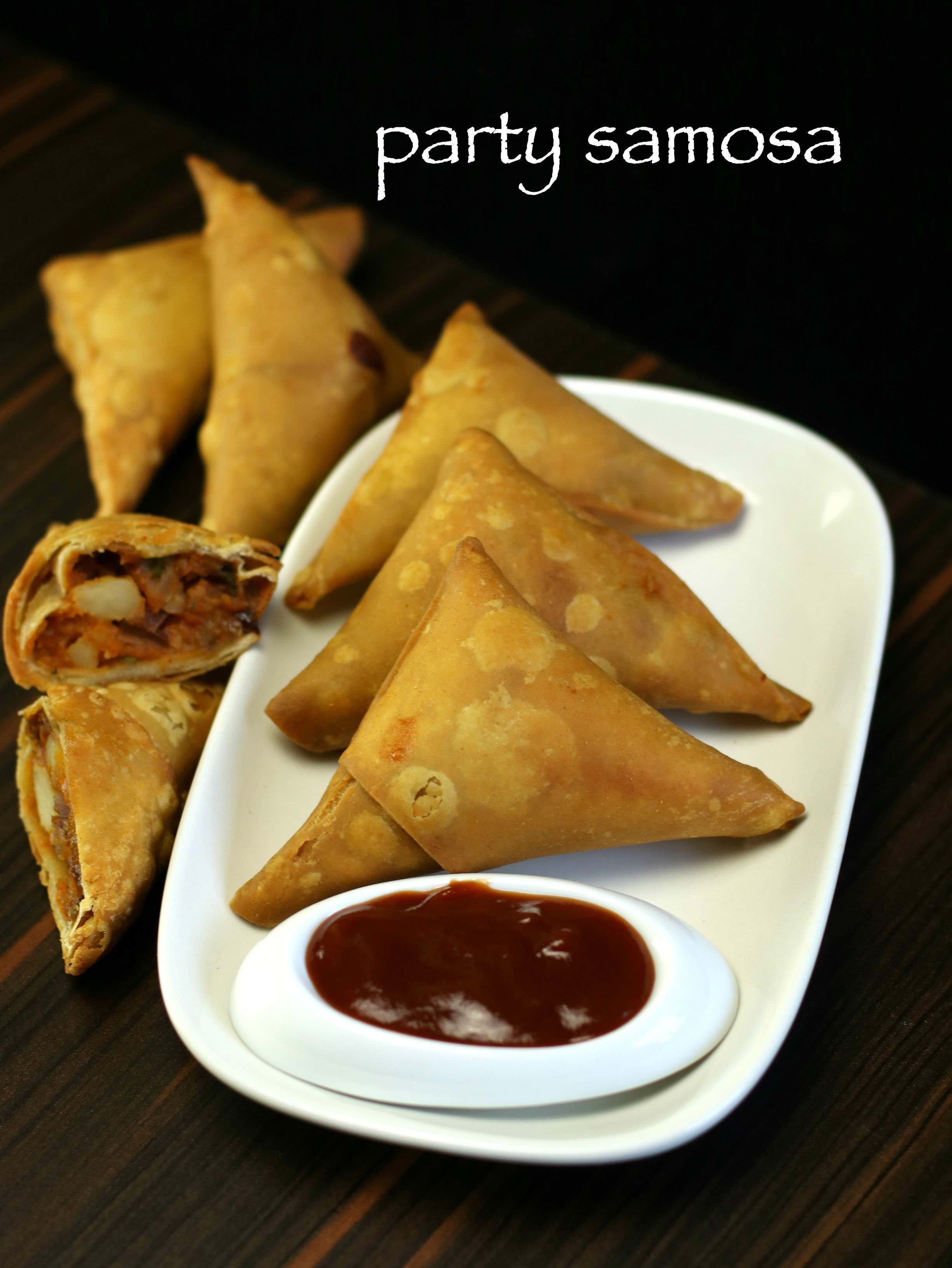 View Samosa Appetizer PNG