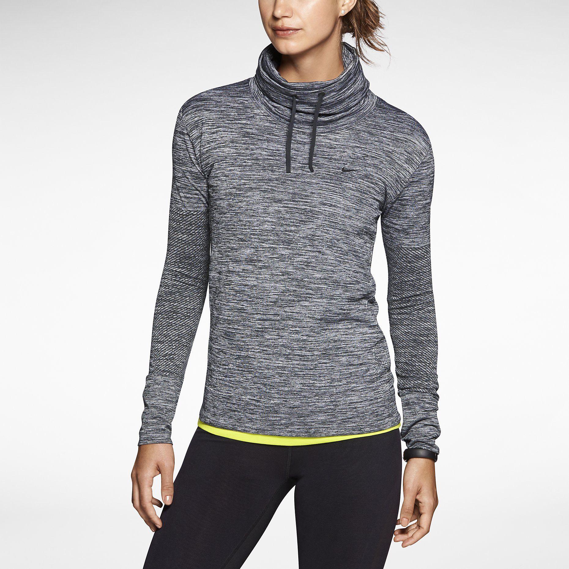 Nike drifit knit infinity womens training coverup nike