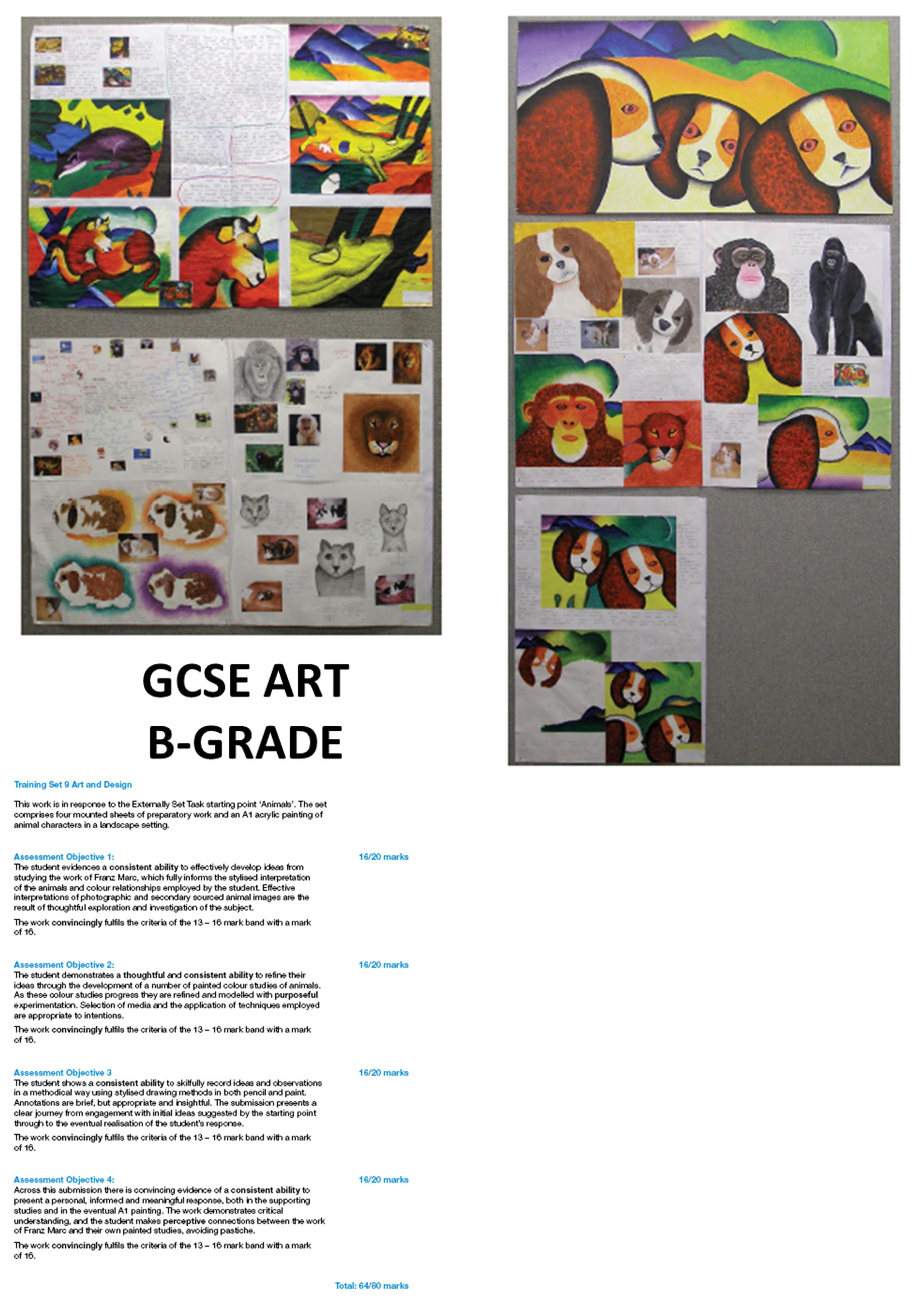 GCSE art and design