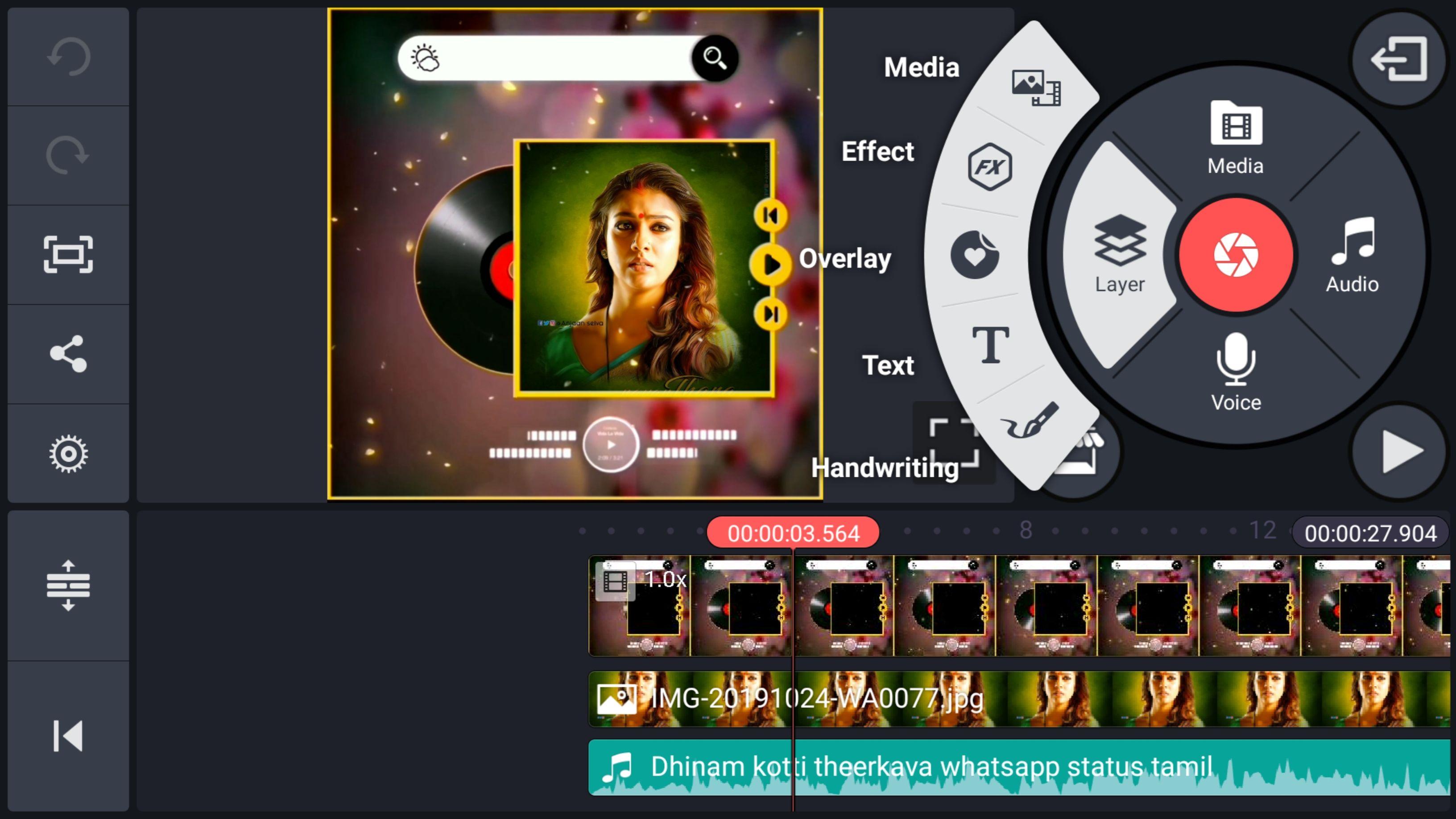 make whatsapp status in 2020 Video editing apps, Status