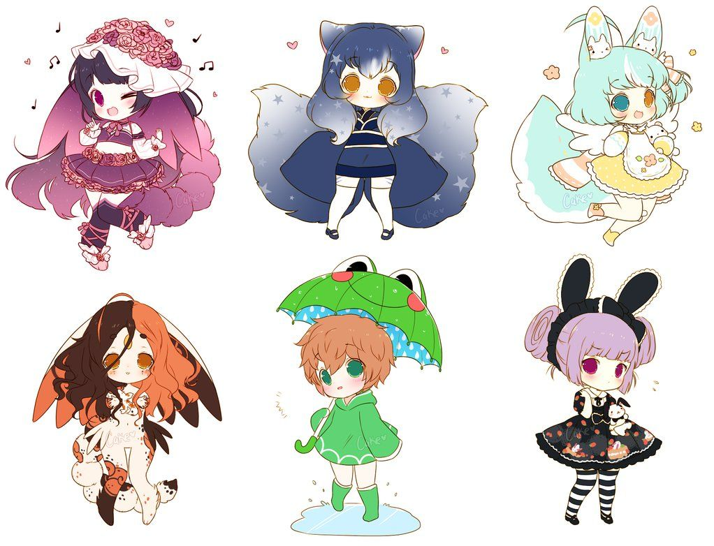 Chibi Sketch Batch 4 by on