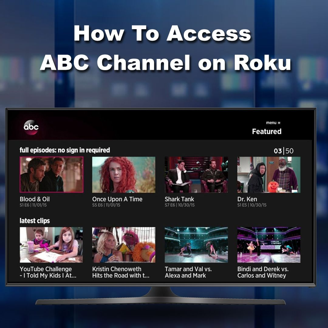 How To Access ABC Channel on Roku Abc, Roku, Channel