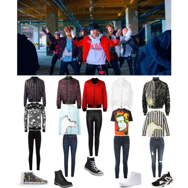 Bts Not Today Mv Outfits Bts Clothing Bts Inspired Outfits