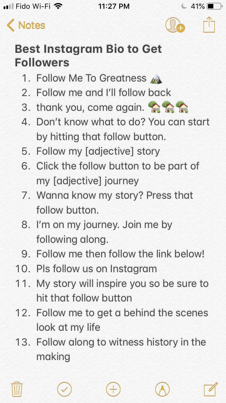 Greatest Instagram Bio To Get Followers Instagram Bio Quotes Instagram Status Bio Instagram Quotes