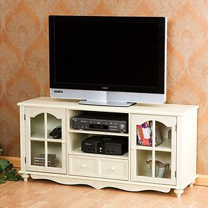 French Country Style Flat Screen Tv Entertainment Cabinet Media Center Stand