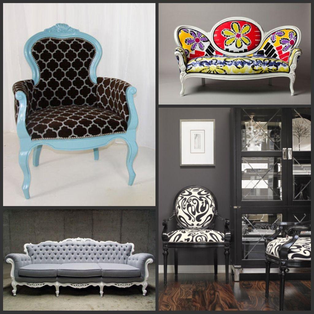 Stuff I Love: Modernizing Victorian Furniture - Stuff I Love: Modernizing Victorian Furniture Feminine Home