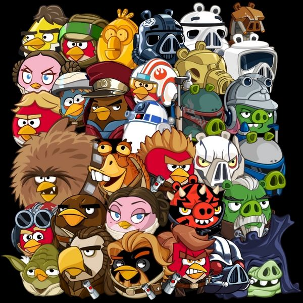 Angry Birds Star Wars Ii Telepods Toys