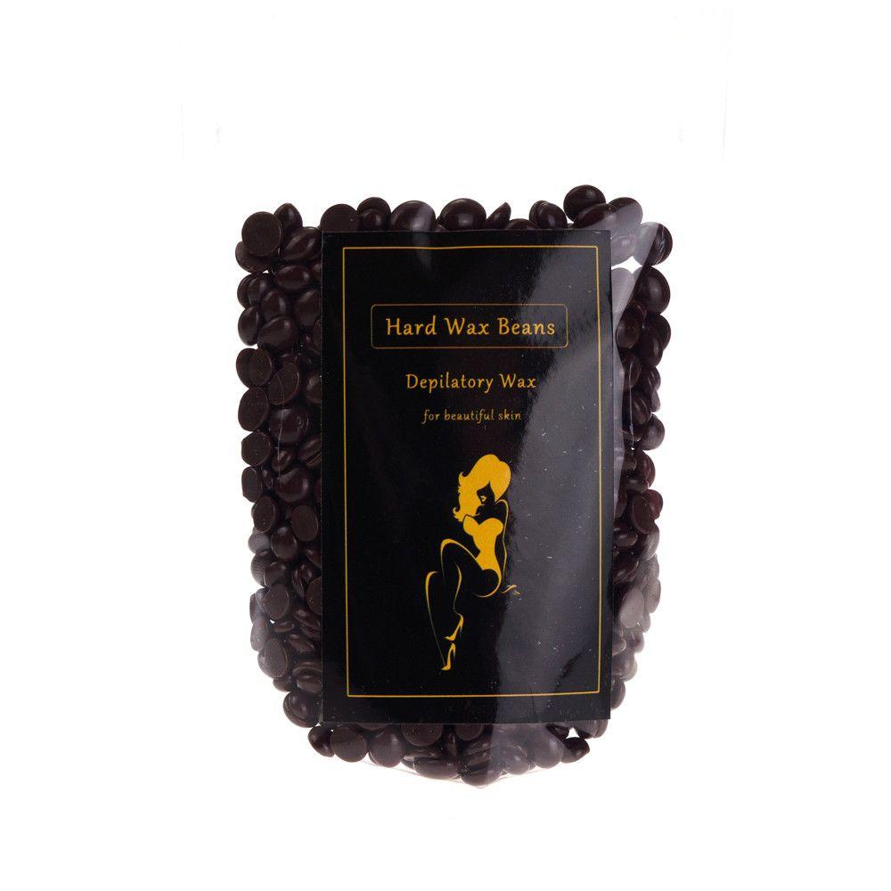 Coffe 100g Pro No Strip Depilatory Hot Film Hard Wax