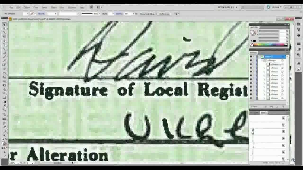 A valid legal investigation of obamas birth certificate showing a valid legal investigation of obamas birth certificate showing proof aiddatafo Gallery