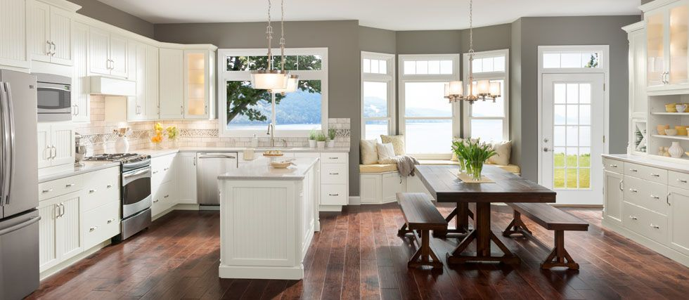 Shenandoah Cabinetry Exclusively At Lowe's  Kitchen Cabinets Enchanting Lowes White Kitchen Cabinets Inspiration Design