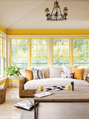 yellow trim