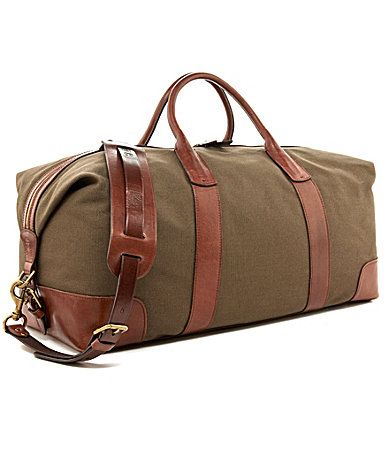 479b2f01f6094 Polo Ralph Lauren Canvas   Leather Duffel Bag