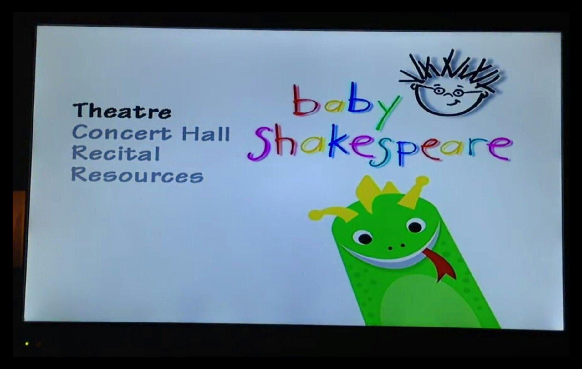 Baby Shakespeare Dvd Menu Einstein Baby Recital