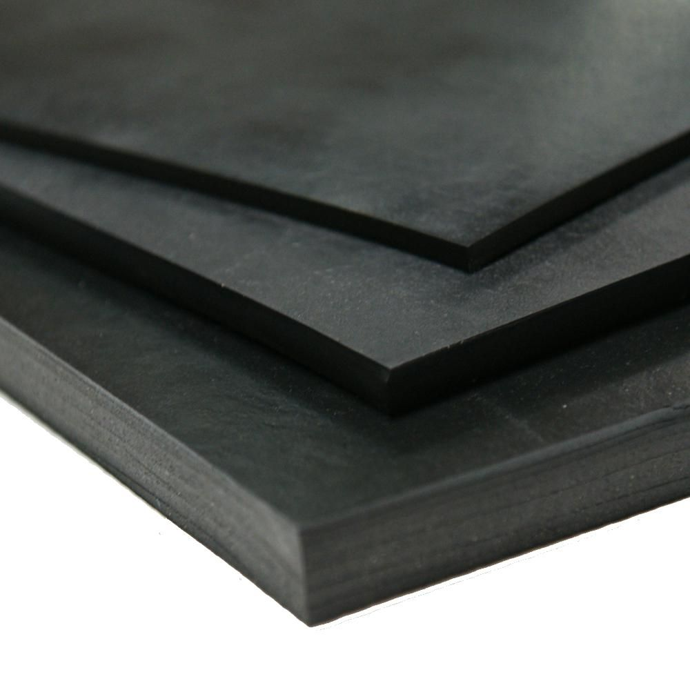Rubber Cal Nitrile 1 4 In X 36 In X 192 In Commercial Grade 60a Black Buna Sheets 20 111 0250 36 192 With Images Buna Rubber Home Depot