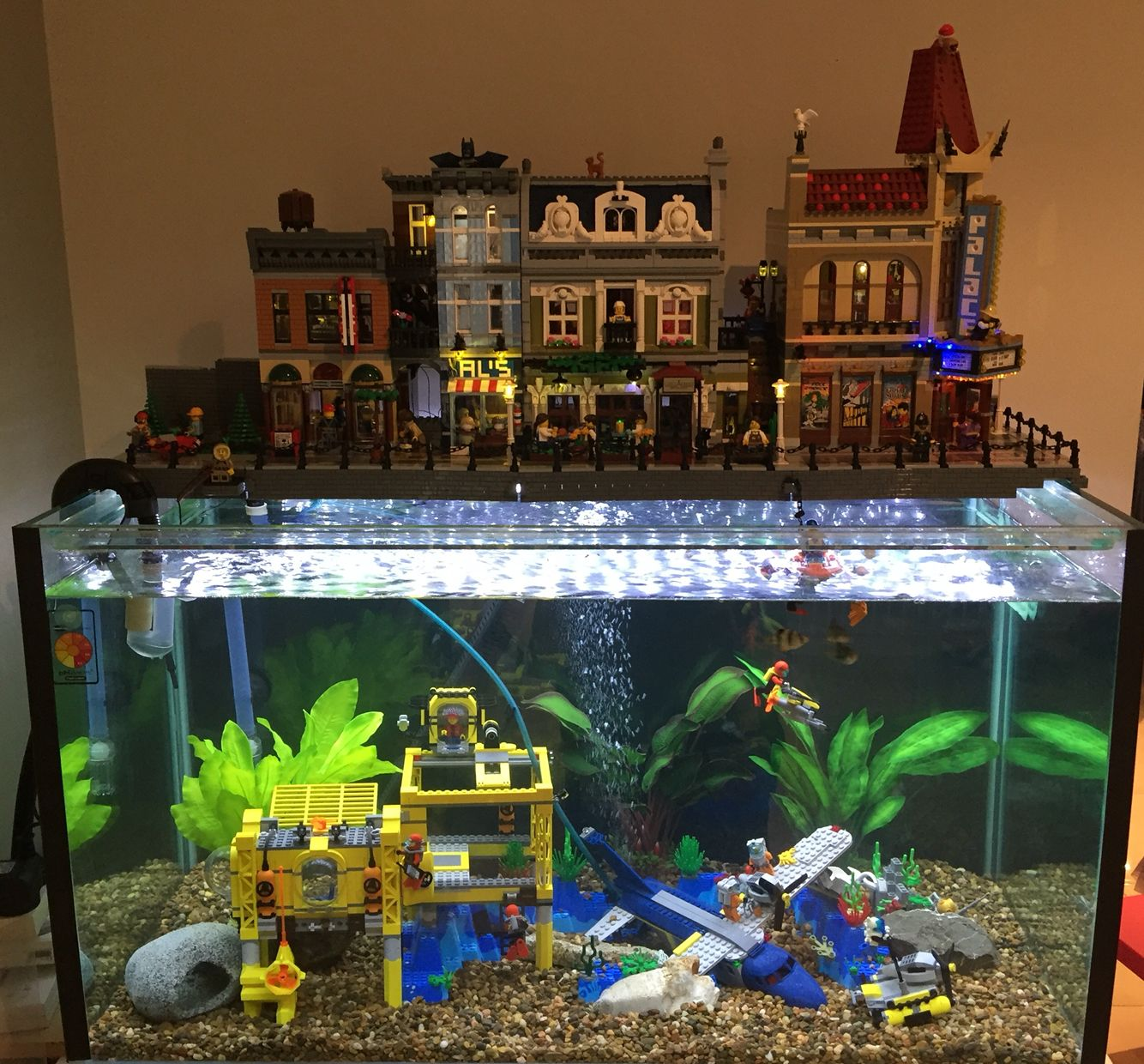 Awesome Lego Aquarium