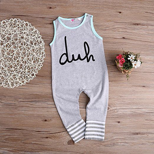 Duh Romper Cheap Baby Clothes Online Amazon Baby Stuff