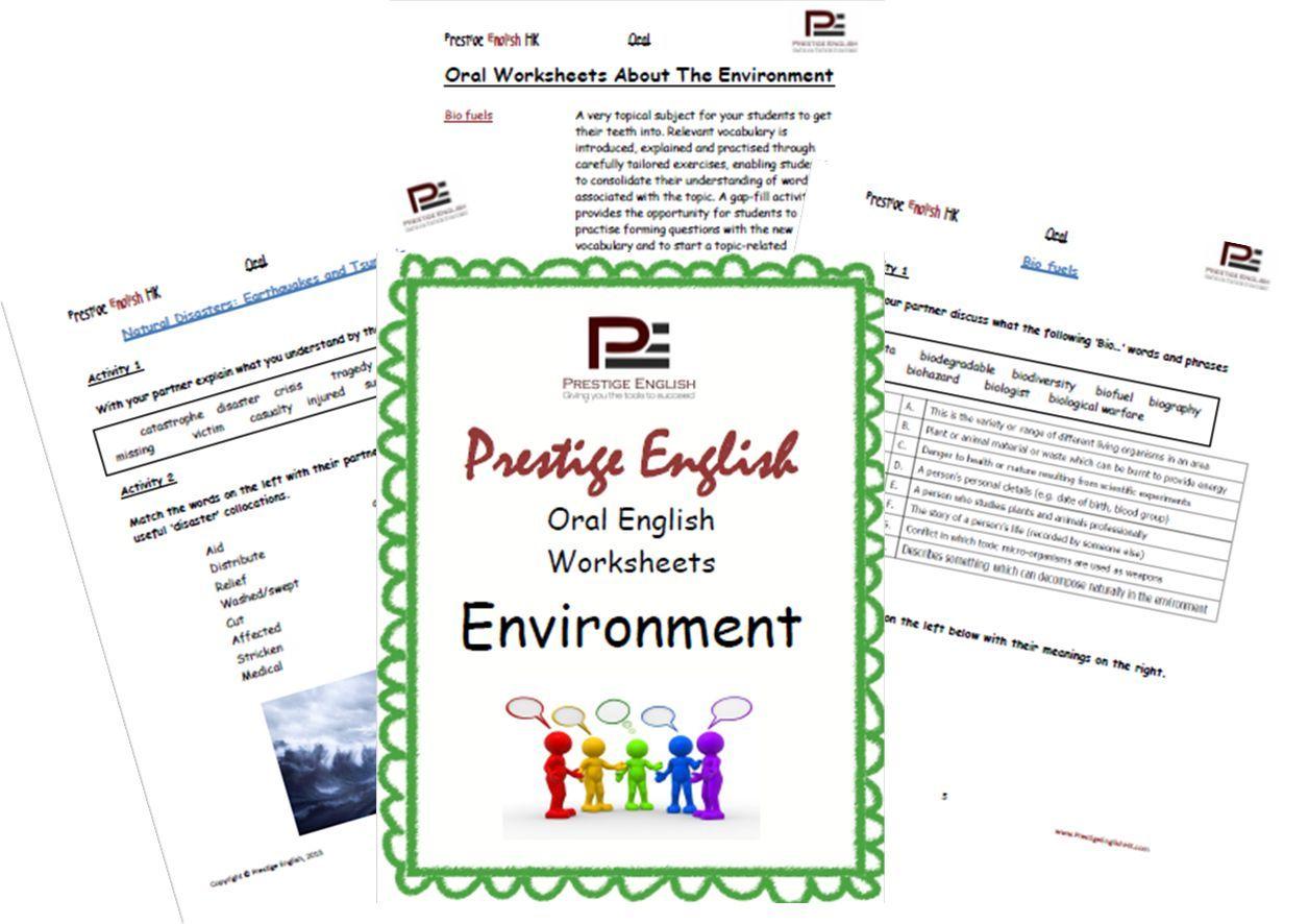 Oral English Workbook