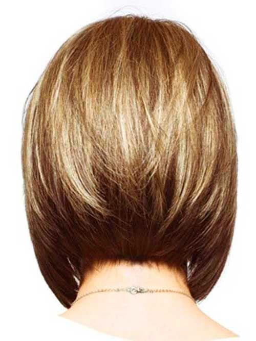 Ruckansicht Des Bob Frisuren Bob Frisur Haarschnitt Bob Lange Bob Frisuren