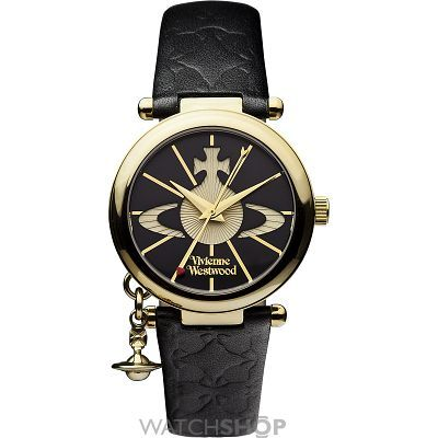 Ladies Vivienne Westwood Orb II Watch. The woman is genius. Ageless. Fearless. I admire her immensely. :-D