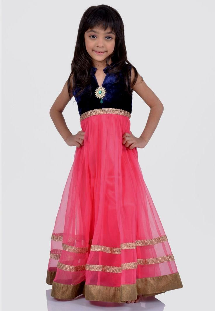 North Indian Dress Casual | Kids clothes online india girls dresses ...