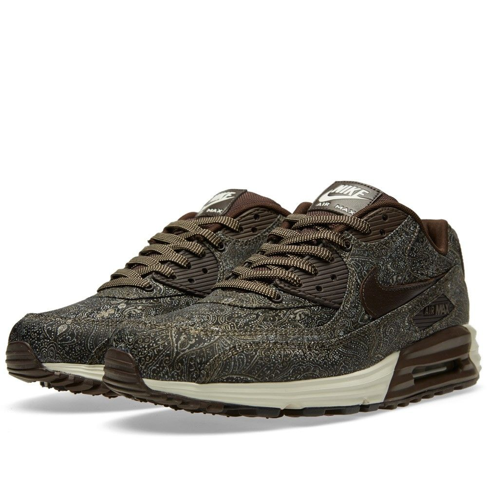 53abda0951 Nike Air Max Lunar90 PRM QS 'Suit & Tie' Velvet Brown 'Suit & Tie'  Colourway Woven Textile Uppers Visible Air Unit Lunarlon Midsole Rubber  Outsole Style ...