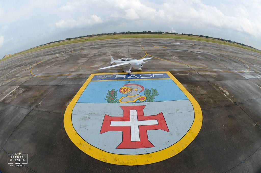 Anequim CEA-311 (CEA-UFMG) na Base Aerea de Santa Cruz-Rio de Janeiro