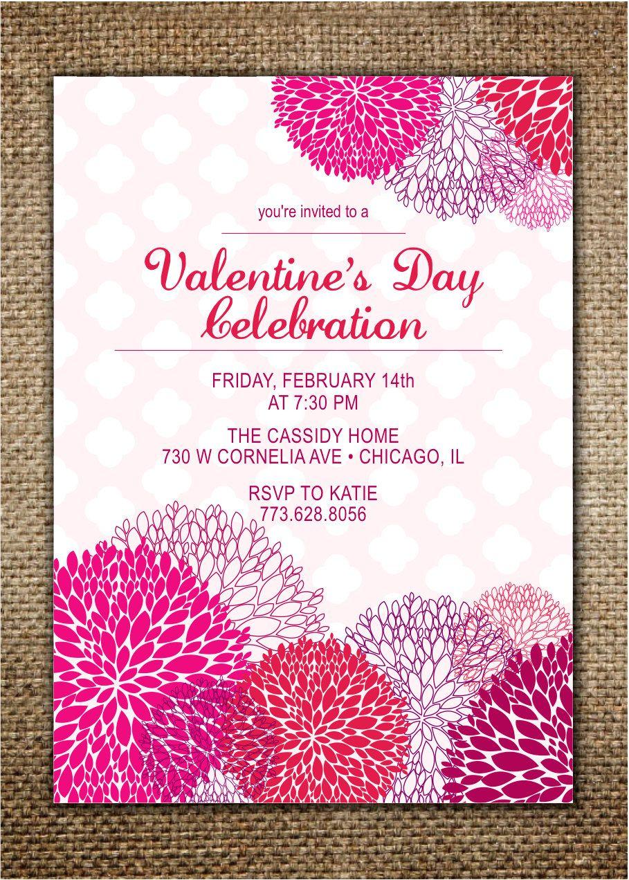 ValentineS Day Invitation BirthdayValentineS By Browndogpress