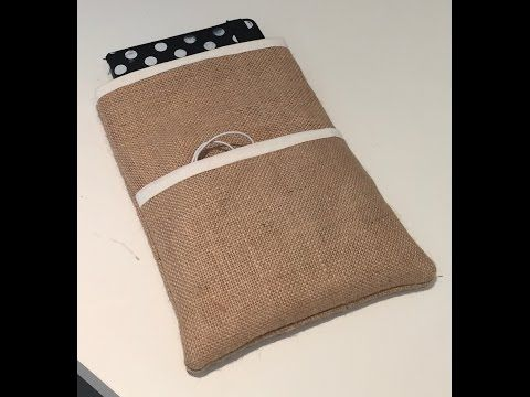 How To Make An IPad Mini / Tablet Case - YouTube