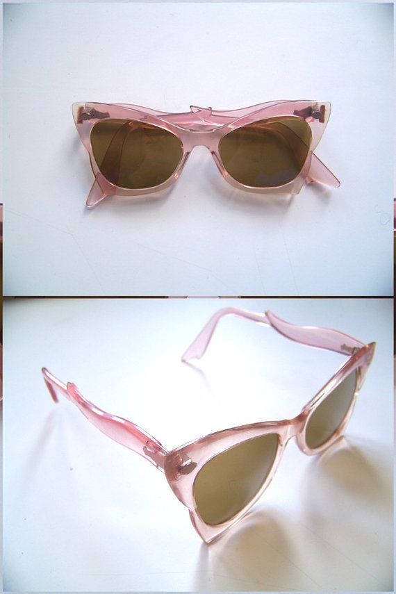 vintage 40s cateye sunglasses