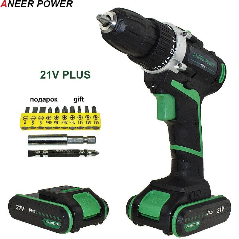 Aneerpower 21v Plus Electric Drill Cordless Drill Batteries Power Tools Aneerpower Plus Electric Drill Cord Cordless Drill Cordless Drill Batteries Drill